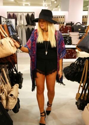 Alli Simpson at Forever 21 Fashion Launch in Brisbane, Australia