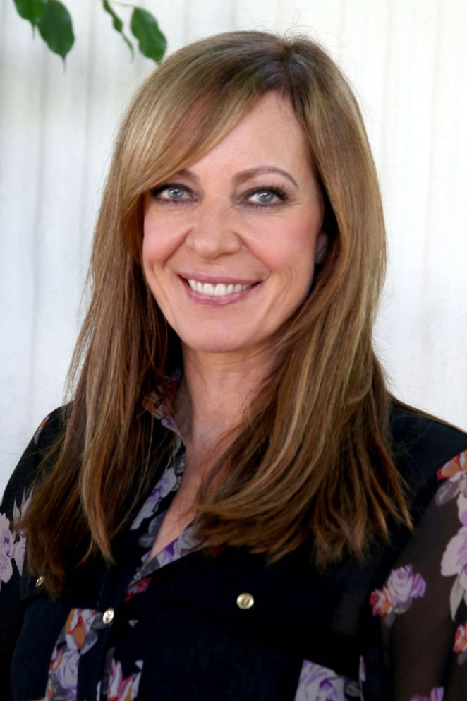 Allison Janney - Mom Press Conference in West Hollywood