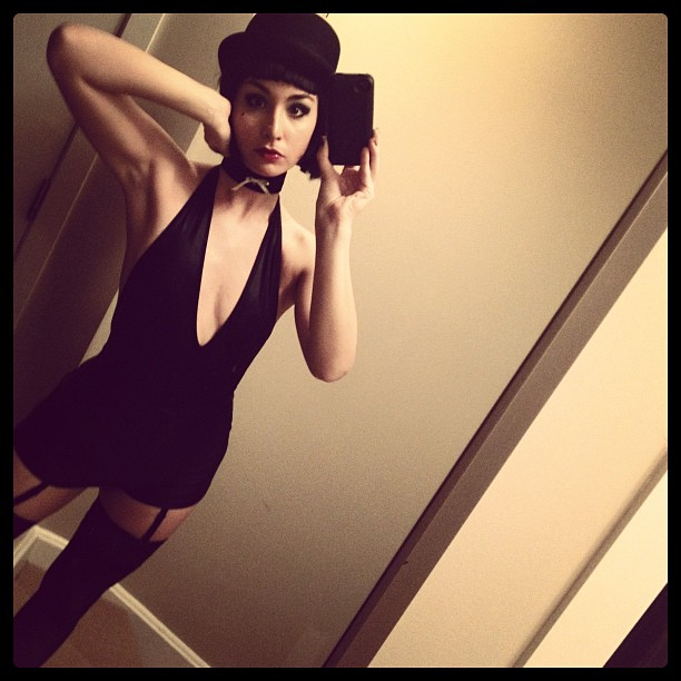 Allison Scagliotti - In Costume for a Halloween Party-02
