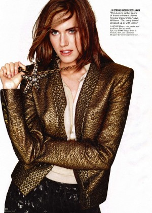 Allison Williams: Glamour US -06