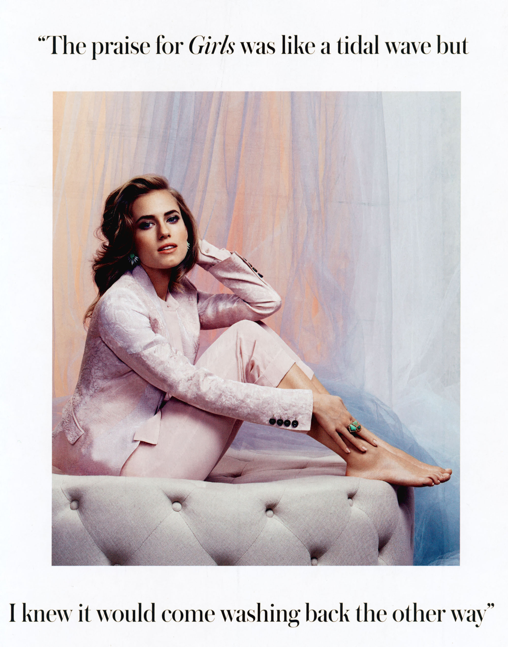 Allison Williams 2014 : Allison Williams: Instyle UK -04