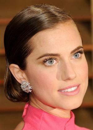 Allison Williams: Oscar 2014 - Vanity Fair Party -03