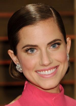 Allison Williams: Oscar 2014 - Vanity Fair Party -04