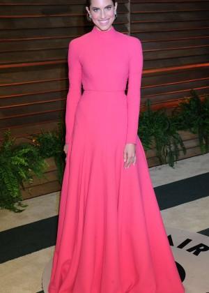 Allison Williams: Oscar 2014 - Vanity Fair Party -07