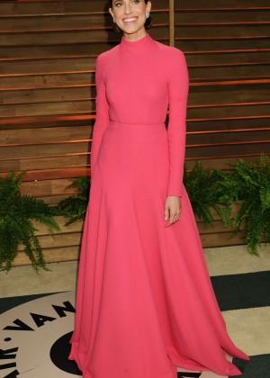 Allison Williams: Oscar 2014 - Vanity Fair Party -09