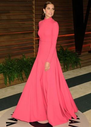 Allison Williams: Oscar 2014 - Vanity Fair Party -10