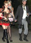 Aly and AJ Michalka - Halloween Party in Brentwood -04