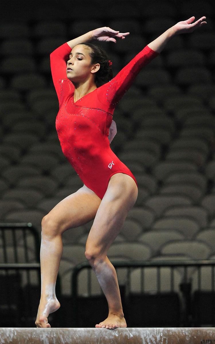 Sexy Gymnast Photos 72