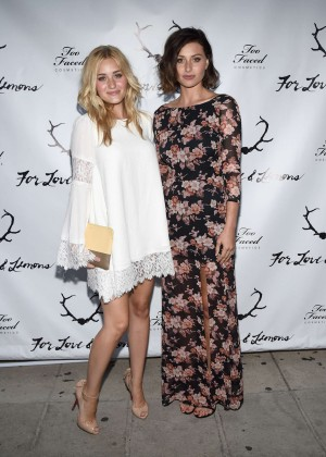 Alyson Aly Michalka - For Love and Lemons annual SKIVVIES party