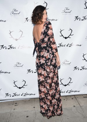 Alyson Aly Michalka - For Love and Lemons annual SKIVVIES party-11