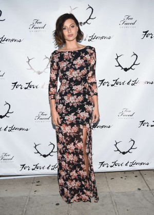 Alyson Aly Michalka - For Love and Lemons annual SKIVVIES party-14