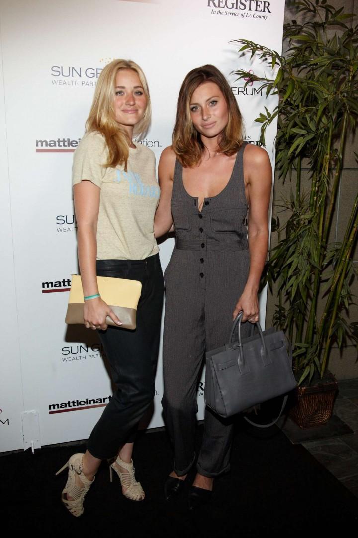 Alyson & Amanda AJ Michalka - Matt Leinart Foundation's 8th Annual Celebrity Bowl in Hollywood