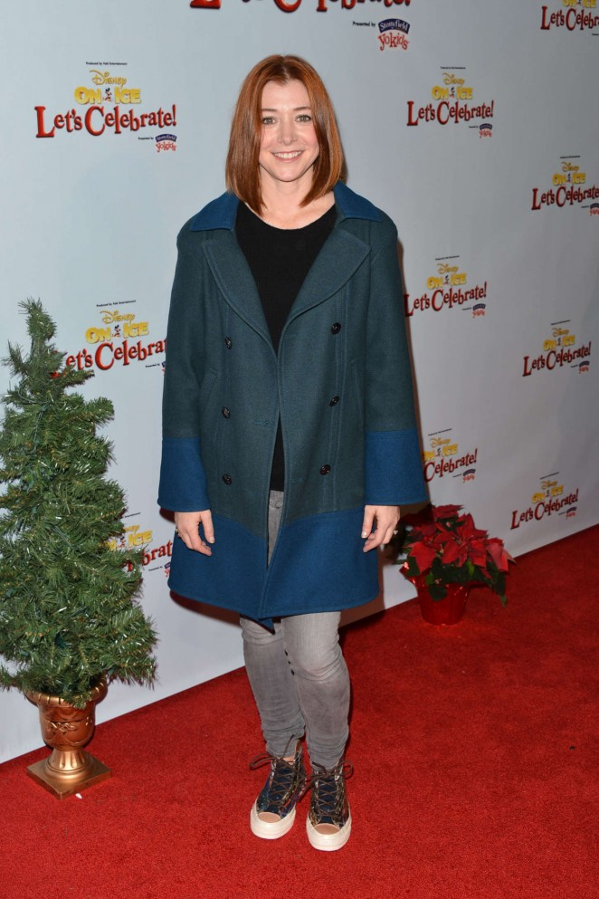 Alyson Hannigan - Disney On Ice Presents Let's Celebrate! in LA