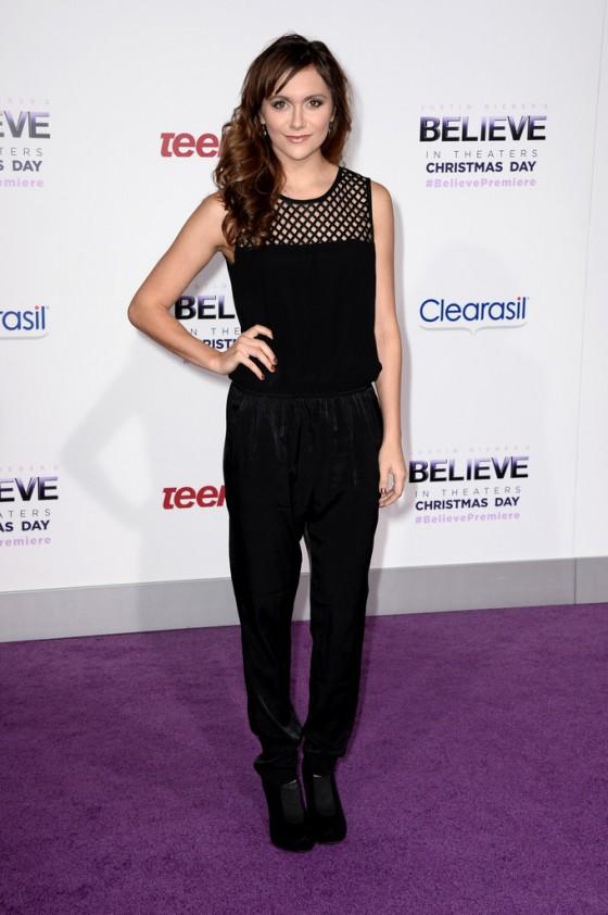 Alyson Stoner: Justin Biebers Believe Premiere -02