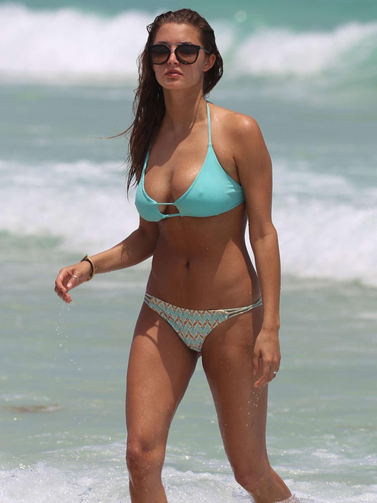 Alyssa Arce 2014 : Alyssa Arce in a Bikini on Miami Beach -08