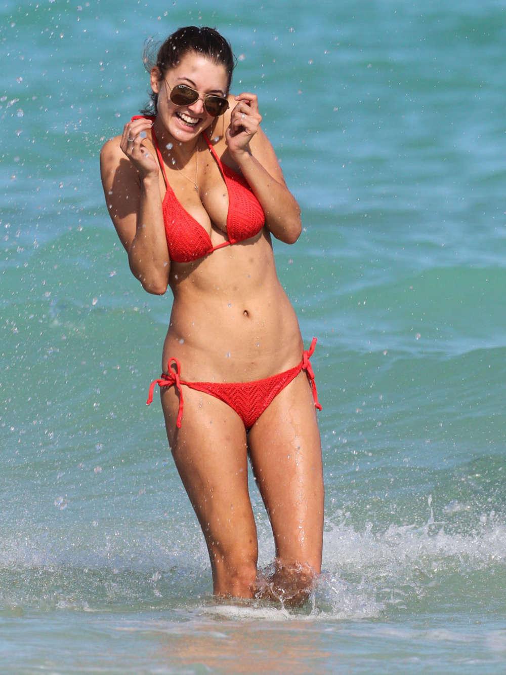 Alyssa Arce 2013 : Alyssa Arce Hot Bikini Photos: Miami -11
