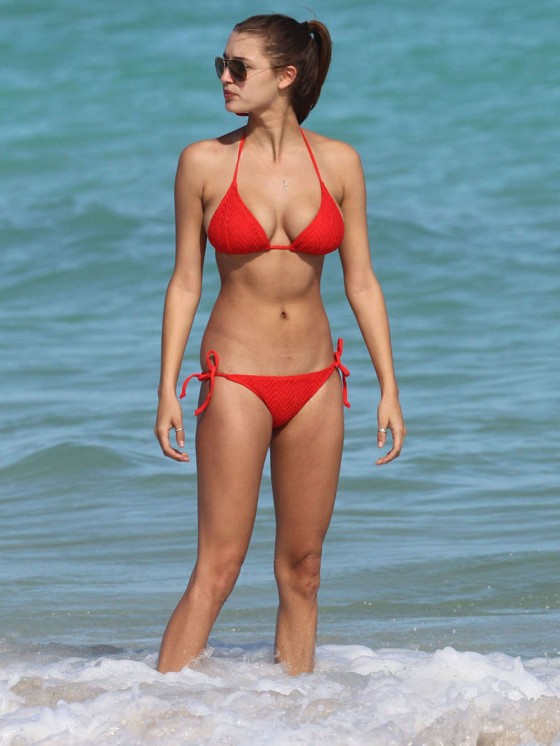Alyssa Arce Hot Bikini Photos: Miami -12