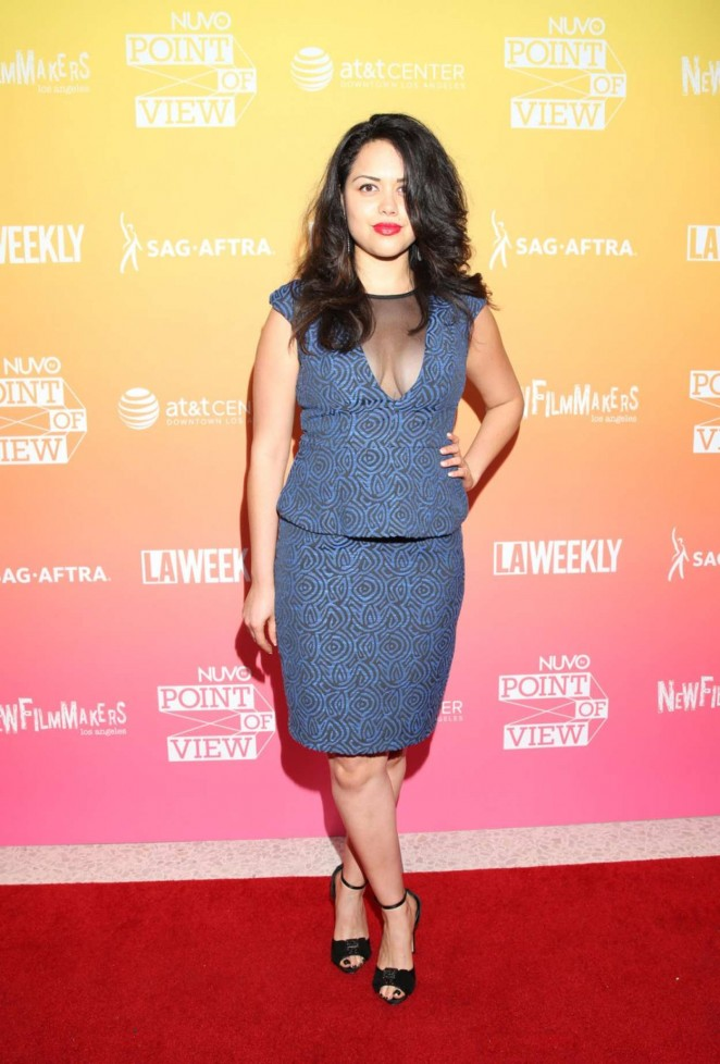 "Alyssa Diaz - ""NUVO Point of View The Emerging Latino Filmmakers"" Screening in LA"