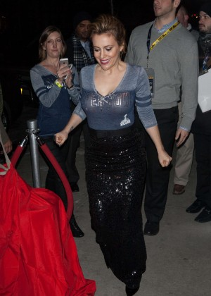 Alyssa Milano: 2014 Super Bowl Kickoff Party -03