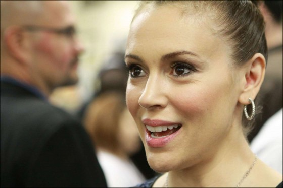 Alyssa Milano at A Night of Entertainment -06
