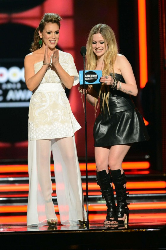 Alyssa Milano at the 2013 Billboard Music Awards in Las Vegas -34