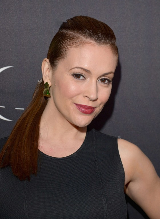 Alyssa Milano at Vanity Fair Campaign Hollywood 2013-07
