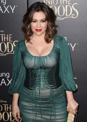 "Alyssa Milano - ""Into The Woods"" Premiere in NY"