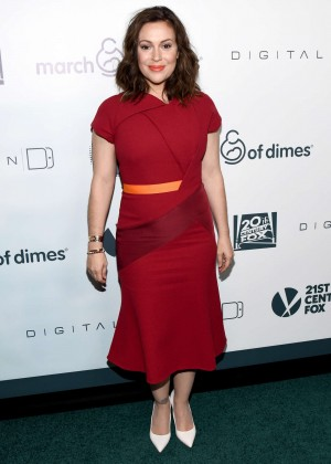 Alyssa Milano - March Of Dimes Celebration Of Babies in Beverly Hills