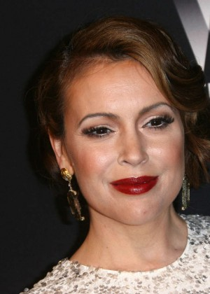 Alyssa Milano: 2014 The Weinstein Company and Netflix GG after party -06
