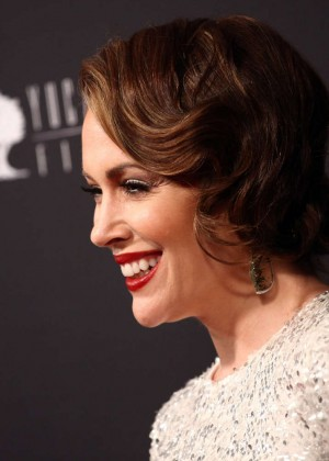 Alyssa Milano: 2014 The Weinstein Company and Netflix GG after party -08