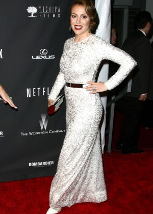 Alyssa Milano: 2014 The Weinstein Company and Netflix GG after party -09