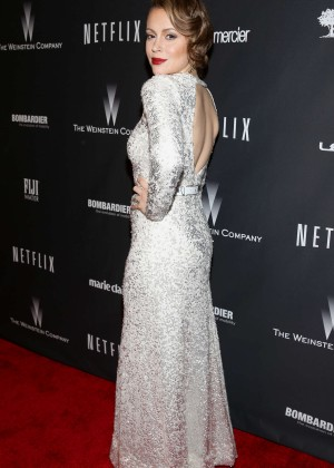 Alyssa Milano: 2014 The Weinstein Company and Netflix GG after party -10