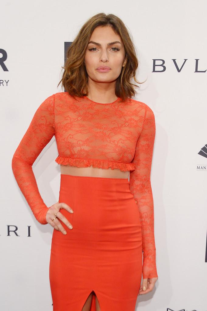 Alyssa Miller – 2014 amfAR New York Gala
