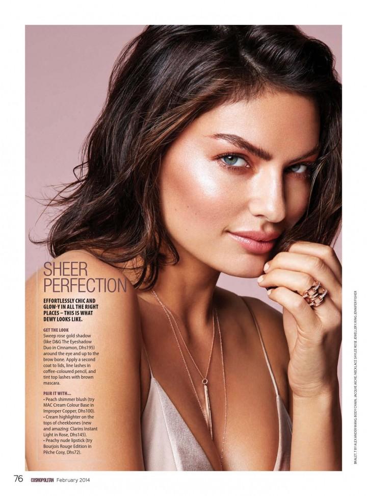 Alyssa Miller – Cosmopolitan Middle East (February 2014)