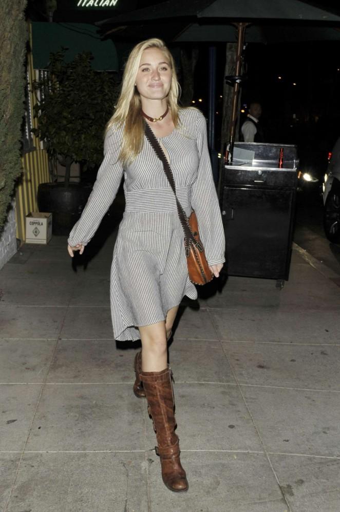 Amanda AJ Michalka – Leaving the Troubadour in West Hollywood