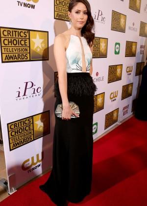 Amanda Crew - 2014 Critics Choice Television Awards in Beverly Hills -01