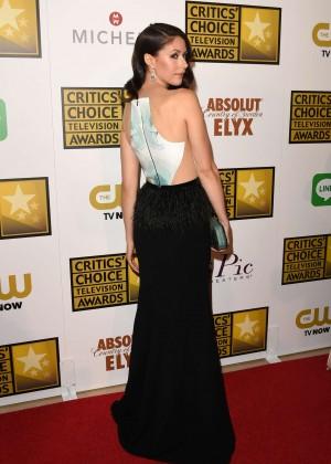 Amanda Crew - 2014 Critics Choice Television Awards in Beverly Hills -02