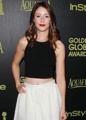 Amanda Crew - HFPA & InStyle Celebrate 2015 Golden Globe Award Season in West Hollywood