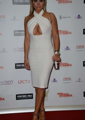 "Amanda Harrington - ""One Night In Istanbul"" Premiere in Liverpool"