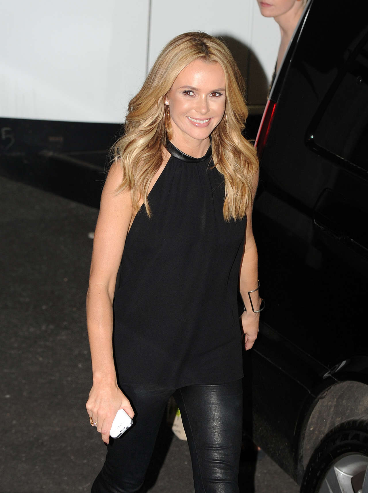 Amanda Holden In Leather Pants 08 Gotceleb