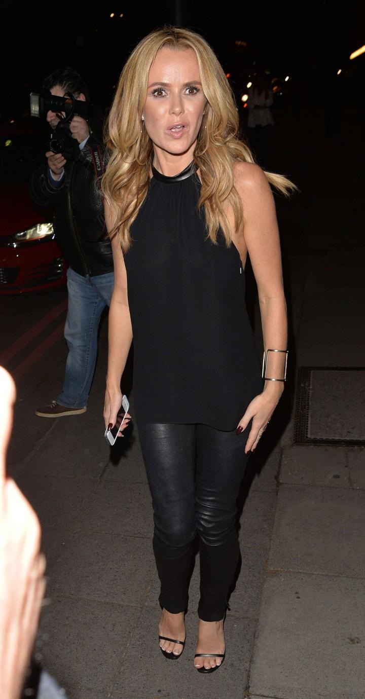 Amanda Holden In Leather Pants 11 Gotceleb