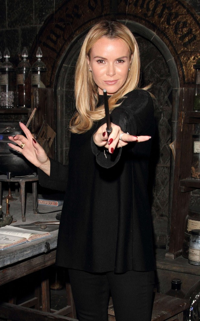 Amanda Holden - 'Dark Arts' Launch Harry Potter Tour in London