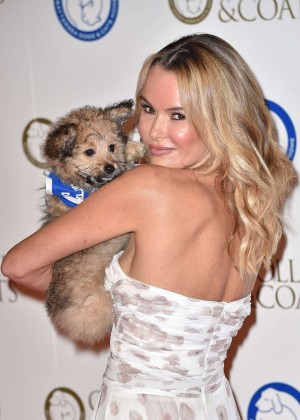 Amanda Holden - Battersea Dog's Collars & Coats Gala Ball in London
