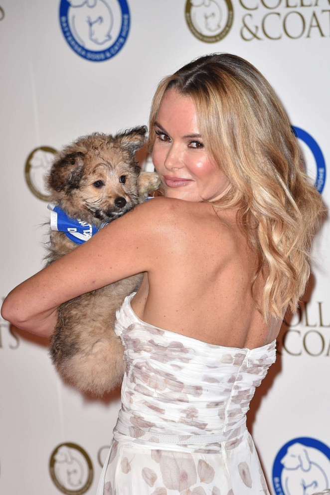 Amanda Holden - Battersea Dog's Collars & Coats Gala Ball in London