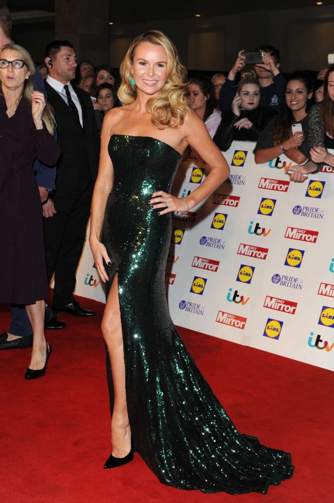 Amanda Holden - 2014 Pride of Britain Awards in London