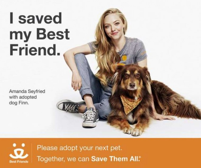 Amanda Seyfried - Best Friend Campaign 2014