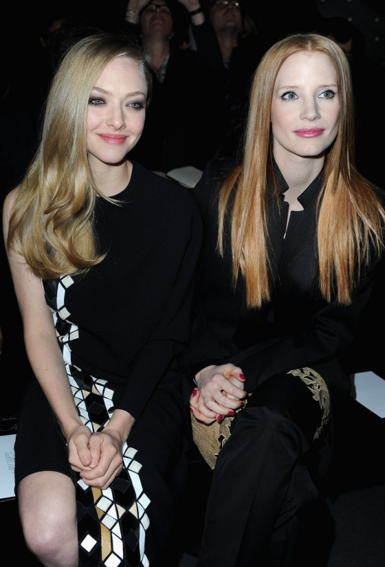 Amanda Seyfried – Givenchy fashion show 2013 -03