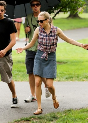 "Amanda Seyfried - On the set of ""Ted 2"" in Boston"