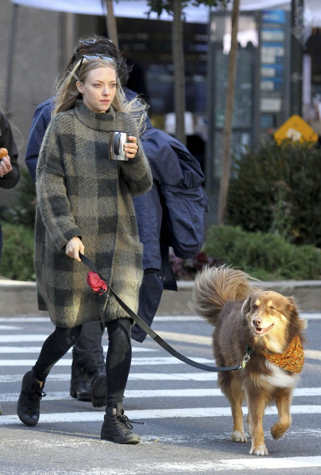 "Amanda Seyfried - Filming ""Ted 2"" Movi Set in NYC"