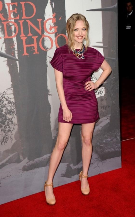 Amanda Seyfried – 'Red Riding Hood' Premiere